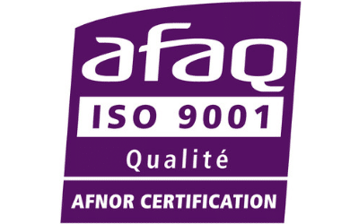 Certification ISO 9001 : 2015